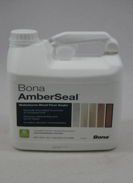 Bona AmberSeal Waterborne Wood Floor Sealer Gallon