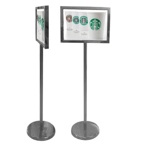 sign stands signage stand display system supplier exhibition solution brochure holder banner