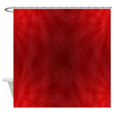 deep red curtains deep red shower curtain by allcolor