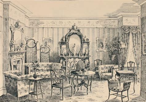 Interior Furnishing by Interior Design Edwardian Promenade