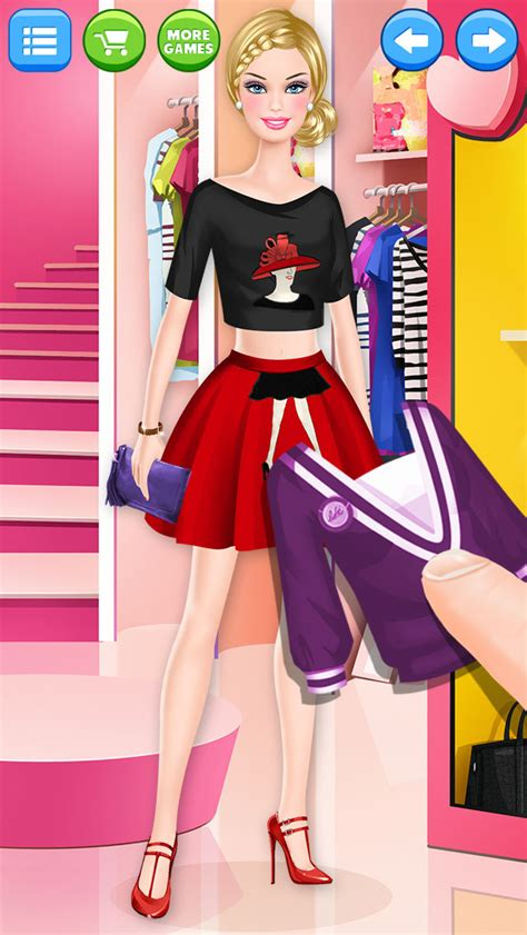 fashion doll shopping day spa app shopper fashion doll shopping day model