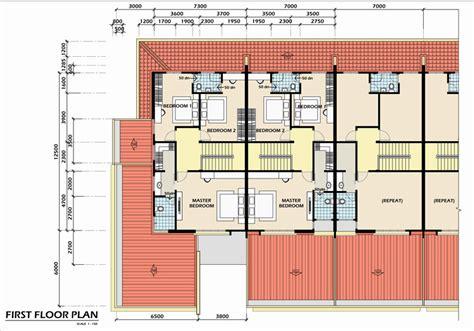 Ground Floor House Design lot 1337 jalan miri bintulu double storey terrace house