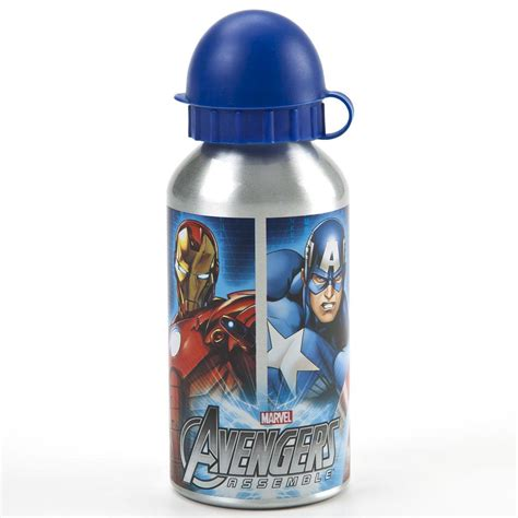 Avagers Bottle marvel comics assemble aluminium drinks bottle free p p ebay