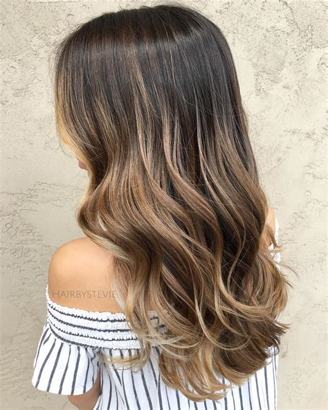 balayage light brown hair trubridal wedding blog 20 natural looking brunette