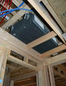 Mitsubishi Ducted Mini Split System Installing Ducted Mini Splits And Erv In Modern High
