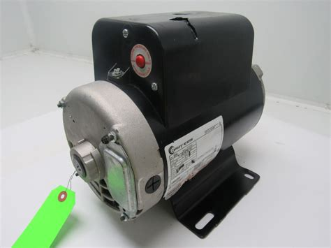 capacitor rating for 5hp motor century b384 5 hp air compressor electric motor capacitor start run 208 230v ebay
