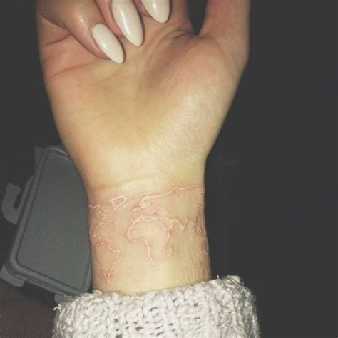 white ink wrist tattoo white ink wrist tattoos designs ideas and meaning