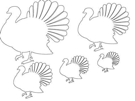 blank turkey template 12 free printable templates