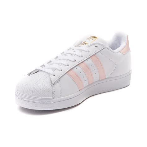 white athletic shoes womens womens adidas superstar athletic shoe white 436411