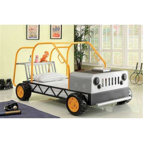 jeep twin bed furniture of america metal modern designed jeep twin bed