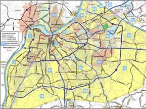louisville area highway map maplets