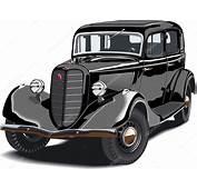 Autos Antiguos Vector Negro — De Stock &169 Mechanik
