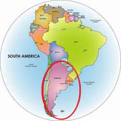 south america map argentina argentina south america map