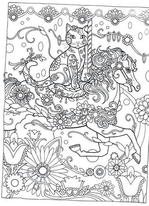 creative cats color by number coloring book coloring books creative cats colouring book i marjorie sarnat