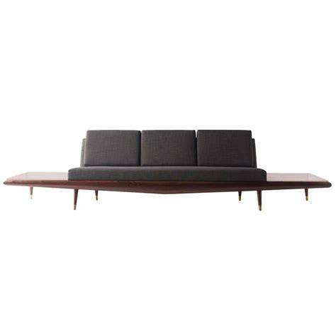 adrian pearsall sofa for craft associates inc modernism
