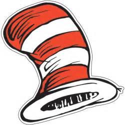 dr seuss cat hat paper cut outs