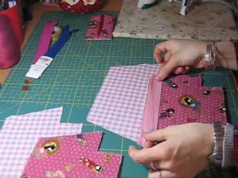 youtube zipper tutorial nairamkitty crafts tutorial como poner una cremallera