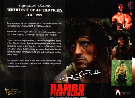 film z rambo replica ofknife from movie rambo first blood
