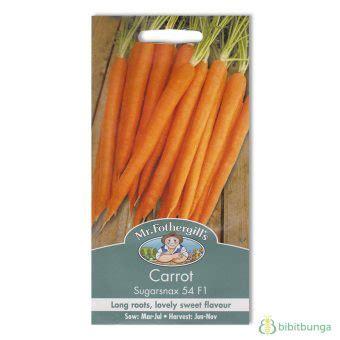 Benih Tanaman Wortel benih wortel sugarsnax f1 500 biji mr fothergills