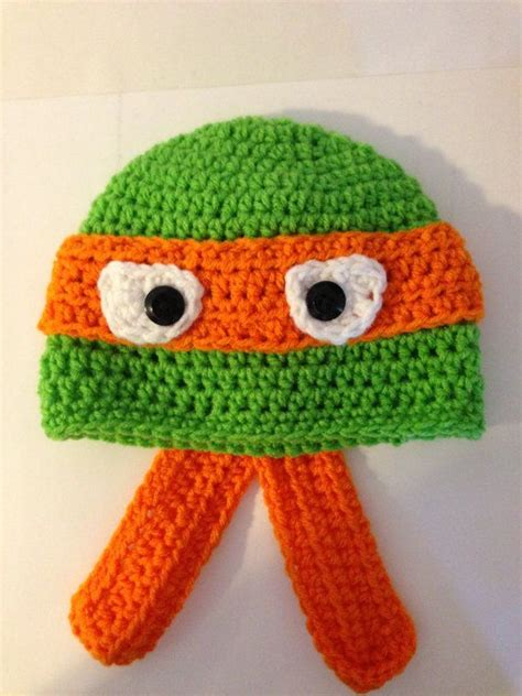 pattern for ninja turtle hat ninja turtle crochet hat pattern crochet hats crochet