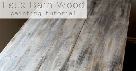 watercolor wood tutorial faux barn wood painting tutorial