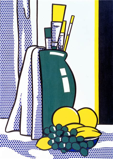 Vase On Sale Still Life With Green Vase The Broad
