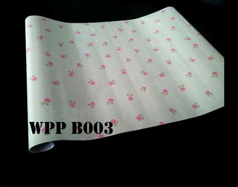 Wallpaper Dinding Sticker Hijau jual wpp b003 background hijau muda wallpaper sticker
