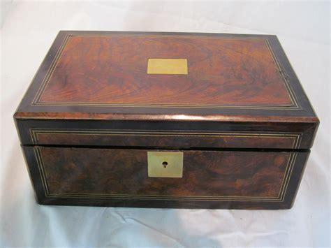 charleston battery bench english inlaid rosewood coromandel lap desk
