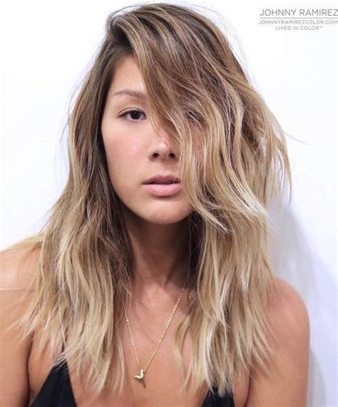 hairstyles for long hair to make face look thinner 60 super chic hairstyles for long faces to break up the length