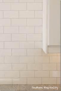 subway tile backsplash on schuler cabinets