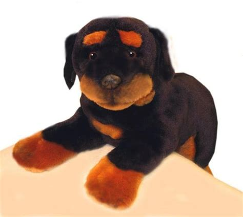 rottweiler stuffed animals rottweilers plush and toys on