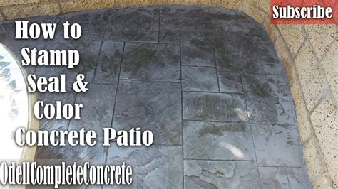 how to color concrete how to color concrete st and seal a great beginner