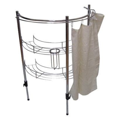 pedestal sink curtain room essentials bathroom sink rack storage with curtain