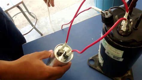 capacitor motor de arranque arranque compresores en refrigeracion con capacitor de marcha o permanente