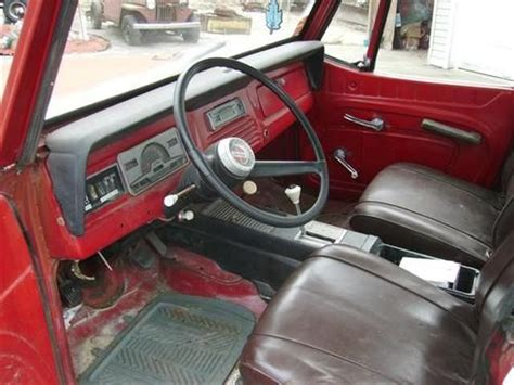 1970 jeep commando interior find used 1968 willys jeepster commando in island pond
