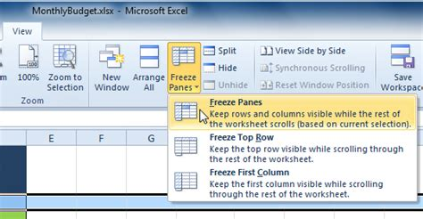 tutorial excel freeze panes how to freeze row in excel freeze column multiple rows
