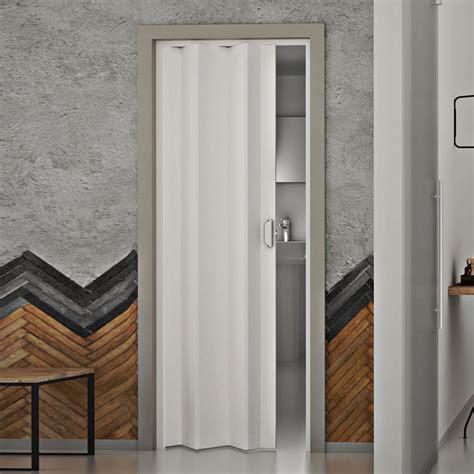 porte soffietto pvc porte porta a soffietto 83x214 cm scorrevole in pvc da