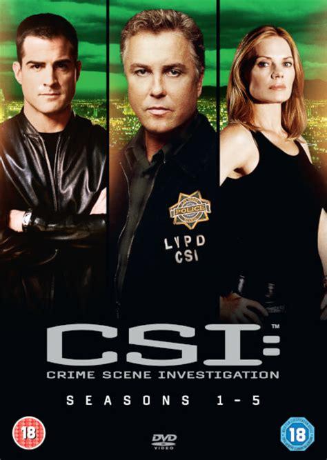 Vegas Season 1 csi vegas season 1 5 boxset dvd zavvi