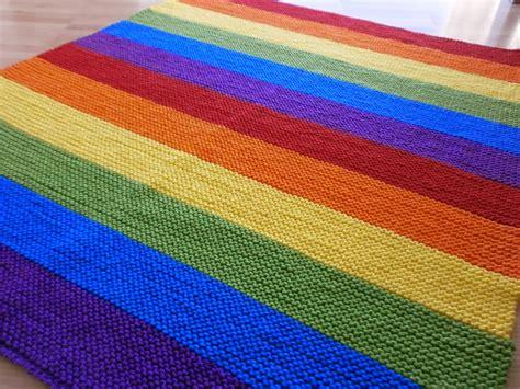 10 Maschen Decke Häkeln by Edeltraud Mit Punkten Rainbow Babydecke