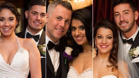 Married At First Sight Couples Enter Year Two Of | married at first sight season 2 weddings shorten the