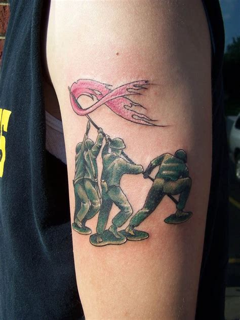 gi joe tattoos 20 awesome breast cancer tattoos feed inspiration
