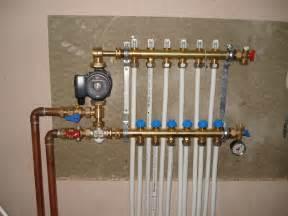 pictures of recent underfloor heatings ian