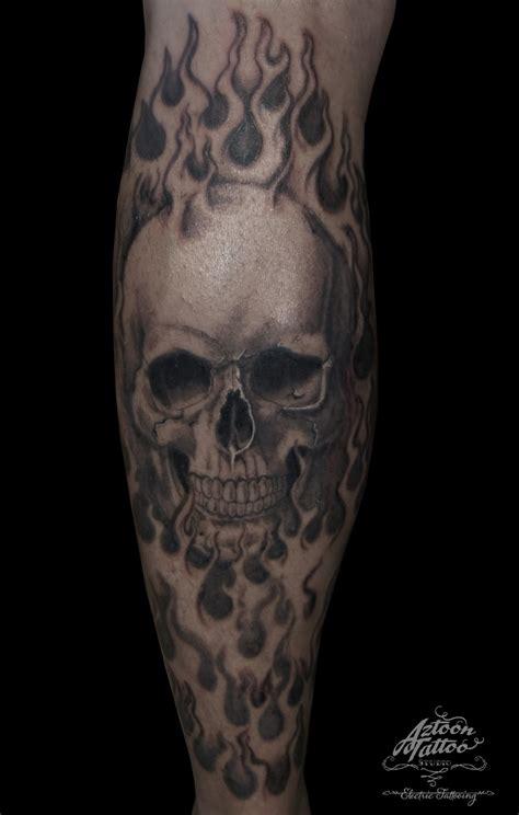 skull fire tattoo designs collection of 25 skull design