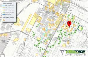 Las Vegas Traffic Map by Where To Park In Downtown Vegas Trikke Las Vegas