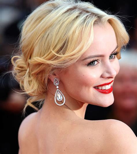celebrity hairstyles buns celebrity updos 2015 helena mattsson in a lovely tousled