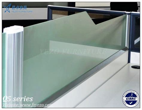 frosted glass office desk 8mm frosted glass office desk dividers half glass office