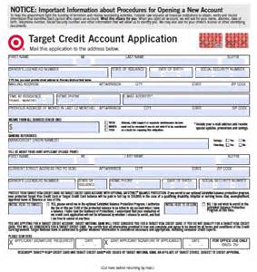 Credit Card Application Sle by Target Credit Card Application Wikidownload Wikidownload