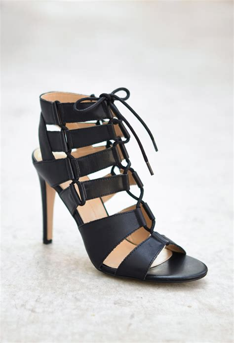 gladiator sandals forever 21 forever 21 dolce vita cutout gladiator sandals in black lyst