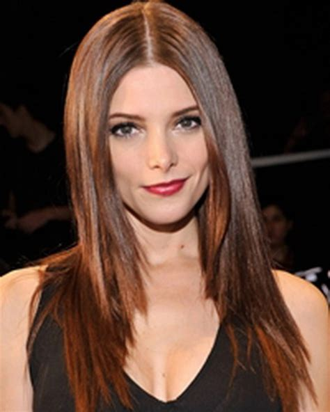 straight hair with layers and part in the middle long straight layered haircut