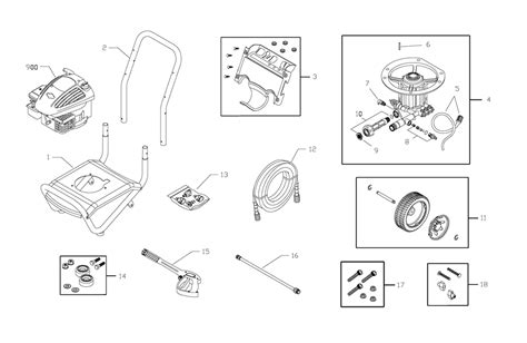 briggs and stratton pressure washer parts diagram buy briggs and stratton 020272 0 replacement tool parts